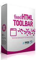 Fixed HTML Toolbar