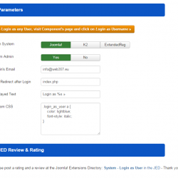 02-Login-as-User-Params