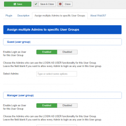 03-Login-as-User-Assign-multiple-Admins-to-specific-User-Groups